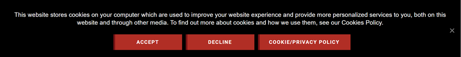 Cookies Acceptance Example